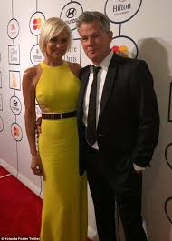 yolanda foster bob haircut yolanda foster wears stella mccartney gown sported by real