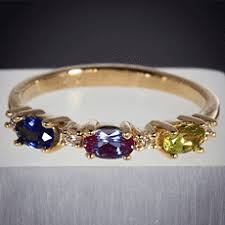 design a mothers ring christopher michael designed six birthstone mothers ring