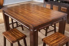 Coffee Table Rooms To Go Adelson Chocolate Square Counter Height Dining Table Dining