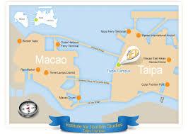 Macau China Map by Access To Ift
