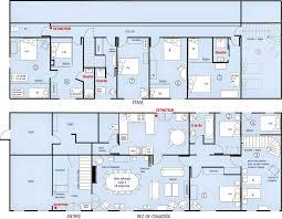 plan 4 chambres plain pied de maison 6 chambres plain pied gratuit con plan maison 4 chambres