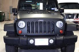 blue camo jeep matte black jeep wrap fort worth zilla wraps