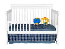 Davinci Kalani Convertible Crib White Davinci Kalani 4 In 1 Convertible Baby Crib In White W Toddler