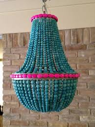 Beaded Chandelier Etsy Chandeliers Medium Size Of Wood Bead Chandelier Green Beaded