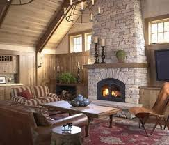 fireplace ideas with stone stunning living rooms with stacked stone fireplace rilane amazing
