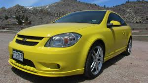 modern collectibles revealed turbocharged 2009 chevrolet cobalt