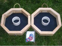 Backyard Drinking Games Wooden Ring Toss Game Giant Outdoor Game Buy Ring Toss Game