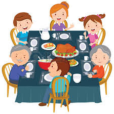 6 275 family dinner stock vector illustration and royalty free