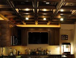 How To Sheetrock A Ceiling by Drop Ceilings Vs Drywall For Finishing Your Basement