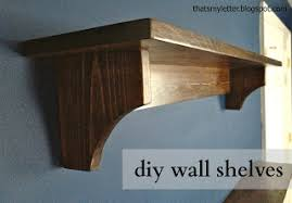 Simple Wood Shelves Plans by Ana White Haley Simple Shelves Diy Projects