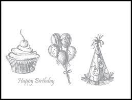 Sketch Birthday Card Kazan Clark Shaker Birthday Card And Free Card Kit