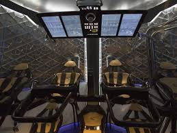 interior of spacex dragon v2 spacecraft business insider