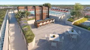 midtown u0027s modera by mill creek apartment tower is now leasing