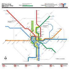 Austin Metro Rail Map A D C Metro Map That U0027s Actually Accurate For Time And Distance
