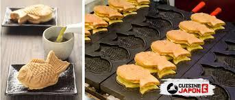ustensile de cuisine japonais taiyaki gaufres japonaises cuisine japon