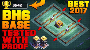 best builder hall 6 base 3500 proof new coc bh6 base after