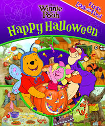 picture of happy halloween first look and find winnie the pooh happy halloween editors of