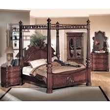corina cherry wood bedroom set dcg stores