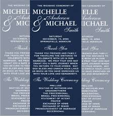 Example Of Wedding Programs 20 Examples Of Rack Card Designs