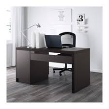 Office Desk Black Malm Desk Black Brown Ikea