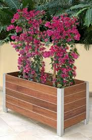 round wooden planters how to make wooden planter boxes