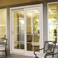 jeld wen sliding patio doors with blinds between glass business composite right hand smooth interior with 10 lite grilles between glass sliding patio door g6068r002w2 the home depot
