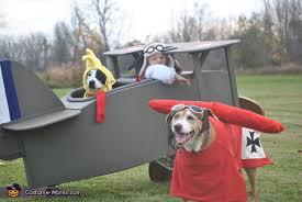 Airplane Halloween Costume U0026 Woodstock Red Baron Costume
