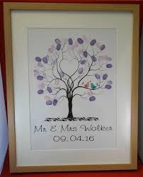 alternative wedding gift registry ideas wedding finger print tree guest book alternative wedding gift