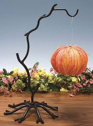 wrought iron twig ornament stand banana holder forging