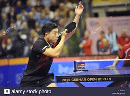 Ma Long Of China Beats Jonathan Groth Of Denmark In The First