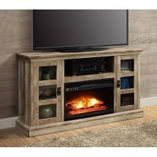 Fireplace Console Entertainment by Whalen Media Fireplace Console For Tvs Up To 70 Inch Weathered