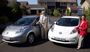 new nissan leaf nissan leafs are a perfect match for couple nissan insider