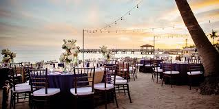 wedding venues in key west casa marina a waldorf astoria hotel weddings