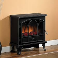 Black Electric Fireplace Duraflame 750 Black Freestanding Electric Stove With Remote