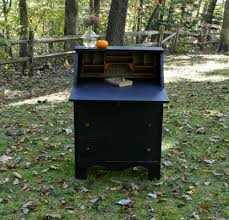 no 99 antique black secretary desk u2014 roots u0026 wings furniture llc