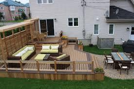 Backyard Deck Designs Plans For Patio Deck Design Ideas Htrm Deck - Backyard deck designs plans