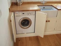 laundry in kitchen ideas cover up your washing machine amazing washing machine cabinets