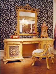 Indonesian Bedroom Furniture by Luxury French Rococo Style Wood Carved Marquetry Canopy Bed Royal