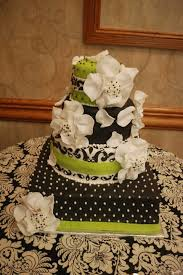 wedding cakes black and white with green cake guru oshkosh wi