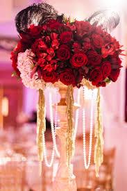 interior design creative red rose themed wedding decorations