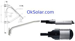 solar panel parking lot lights how to use and design solar outdoor area lighting