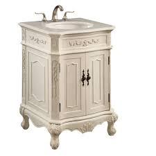 Antique White Vanity Elegant Lighting Bathroom Vanities Bellacor