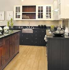 Black Kitchen Cabinets White And Black Kitchen Cabinets 52 Dark Kitchens With Dark Wood
