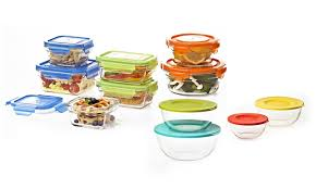 Food Storage Container Sets - glasslock u0027s ovenproof food storage sets and nesting mixing bowls