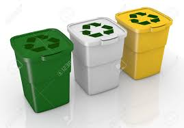 30 gallon durable and customizable recycling bins or trash cans 3