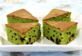 sweet crumbs green tea chocolate chip cake