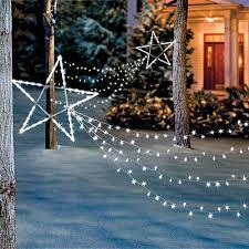 led shooting star lights led shooting star light set christmas holiday outdoor yard art