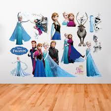 queen elsa kristoff disney frozen wall sticker for children room disney queen elsa kristoff frozen wall sticker for children room
