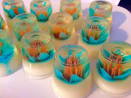 jello flowers gelatinas para mesa de postres youtube