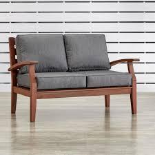 Modern Outdoor Loveseat Lakeland Mills Patio Love Seat Cf1148 The Home Depot